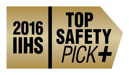 IIHS Top Safety Pick + ‡‡