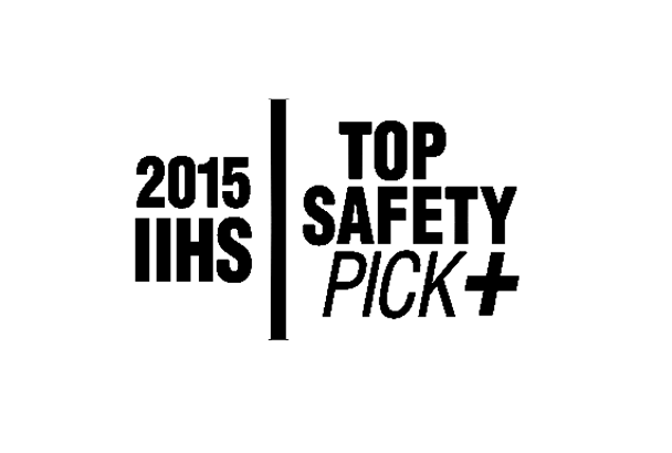 Top Safety Pick+, Superior Front Crash Prevention★