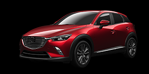 The All-New CX-3, with i-ACTIV AWD.