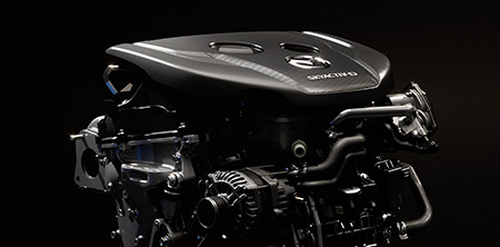 Skyactiv-D 2.2 Dual Turbo Diesel Engine