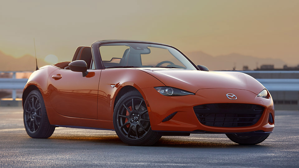 mazda miata 30th anniversary edition